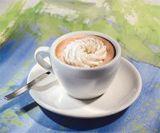 doppelter espresso mit milch